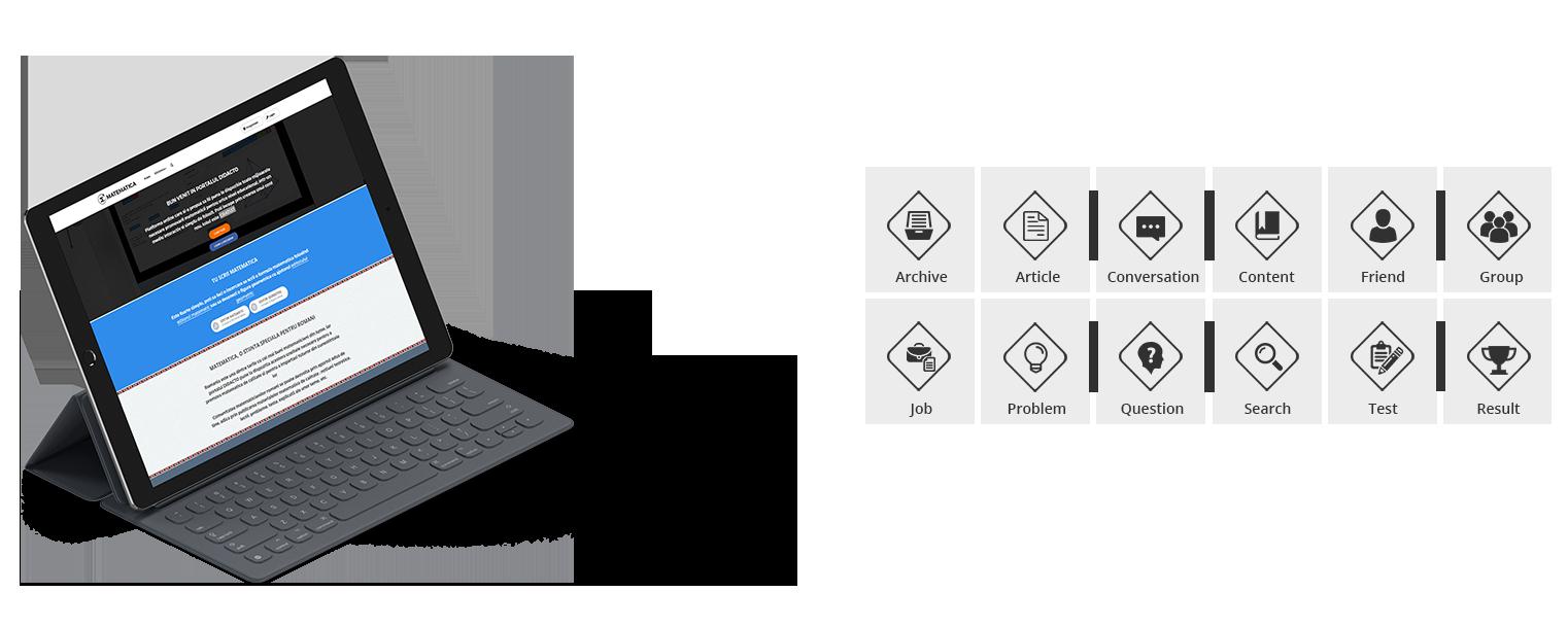 matematica icons