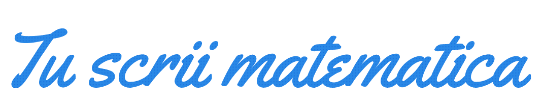 matematica slogan