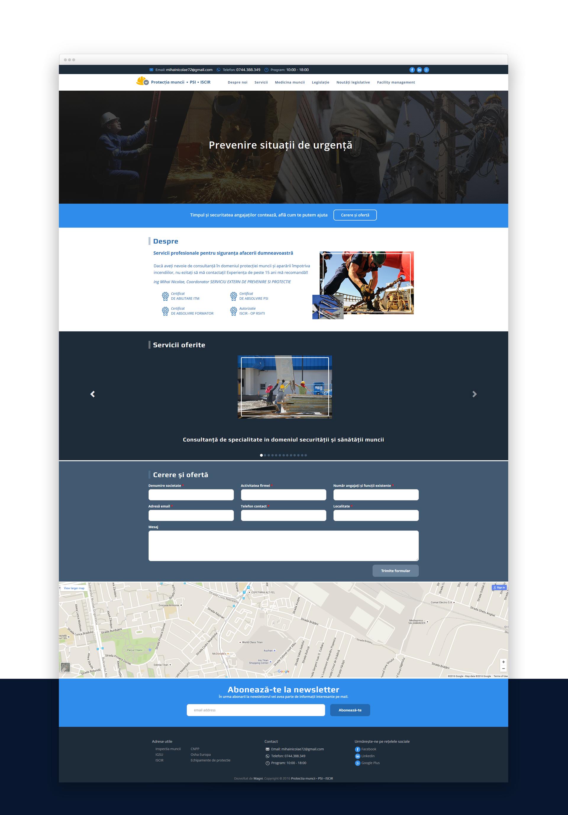 protectia muncii website