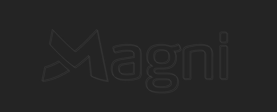 magni text sketch
